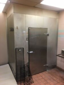Walk in Cooler 7x7x8 5 Comes With Evaporator And Condenser