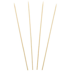 Royal 12 Round Bamboo Skewers For Meat Vegetables Case Of 9600 R824