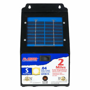 Fi shock 2 mile Solar Electric Fence Charger