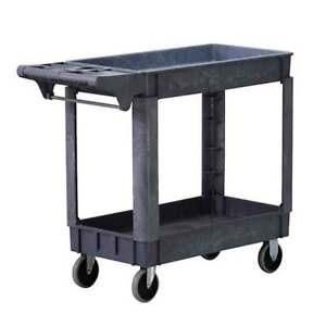Wen 500 lb Capacity Service Cart Rolling Utility Storage Tray With Compartments