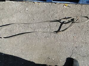 Sling Wire Rope 5 8 Thick 3 Ton Sling With Loops 7 Ft Line 3 Ton Heavy