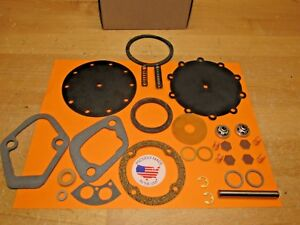 1933 To 1941 Lincoln V 12 New Double Action Modern Fuel Pump Kit Usa Ac 1521218