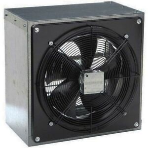 12 Exhaust Fan Axial 1208 Cfm 120 Volt 1 Phase 1 8 Hp Direct Drive