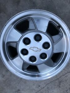 2000 2003 Chevy Silverado Tahoe 6 Lug Rims Wheels 16x7 Oem Gm 6x139 7 6x5 5