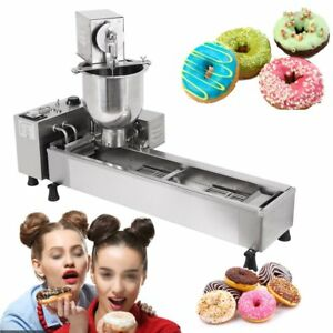 Automatic Donut Machine 3kw Commercial Donut Maker 3 Set Free Mold New Fd