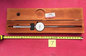 Excellent Starrett Dial Indicator 6 Inch Range With 3 5 Dia Face Model 656 6041