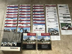 Terex Sales Comparison Manual Tractor Loader Backhoes 40 Specification Sheets