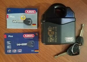 Abus 37 80 Rk Kd Granit High Guard Insurance Padlock Heavy Duty Made In Germany