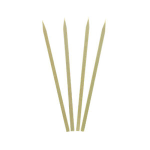 Royal 7 Flat Bamboo Meat Satays And Vegetable Skewers Case Of 3000 Bsf7