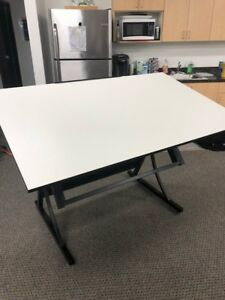 Drafting Table And Chair Never Used 60 X 37 5