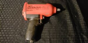 Snap On Mg725 1 2 Air Impact Wrench Red Used 810ft Lbs