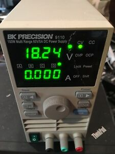 Bk Precision 9110 100w Multi Range 60v 5a Dc Power Supply