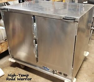 High temp Insulated Portable Worktop Food Warmer Pan Rack Catering Cabinet 120v