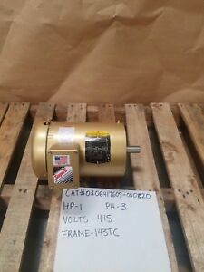 Baldor cat 0106417605 000020 50hz 415v Ph3 1455 Rpm Frame 143tc New