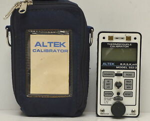 Altek 322 2 Universal Thermocouple Calibrator 322