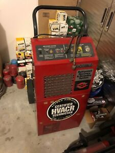 Robinair 17500b A c Refrigerant Recovery Recycling System Untested