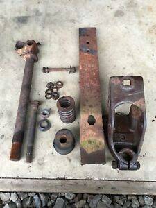 Farmall Regular Seat And Steering Post Bracket Spring Seat Frame