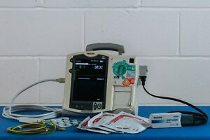 Philips Heartstart Mrx Manual Aed Defibrillator With Leads Charger Test Load
