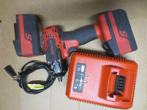 Snap On 18v 3 8 Impact Wrench Ct8810a Bundle 2 4 0 Batteries Charger