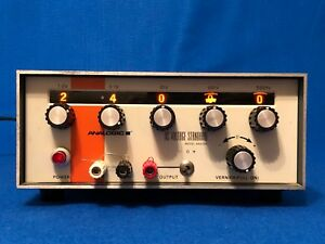Vintage Analogic An3100 Dc Voltage Standard Analog Selectors Good
