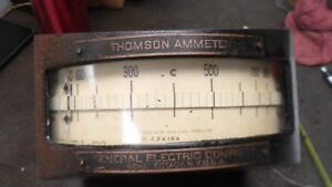 Large Antique Thompson General Electric Electrical Instrument Meter