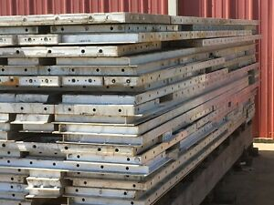 Aluminum Concrete Forms 222 Panels For Pre cast Walls Gables And Roofs