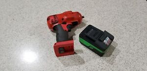 Snap on 18 V 3 8 Drive Monsterlithium Impact Wrench one Battery Ct8810b