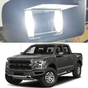 4 X White Led Visor Vanity Mirror Light Bulbs For 2015 2018 Ford F150 Xlt Raptor