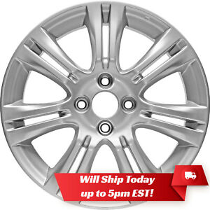 New Set 4 16 Alloy Wheels Rims And Centers For 2009 2014 Honda Fit 63990