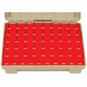 Vermont Gage Black Guard Class Zz Pin Gage Set Measuring Range 0 0060 0 0600