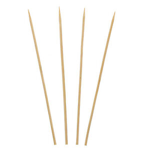 Royal 8 Round Bamboo Meat Satays And Vegetable Skewers Case Of 19 200 R808