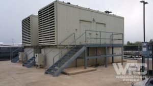 Used 1000 Kw Cummins Dqfad Diesel Generator Epa Tier 2 Rated
