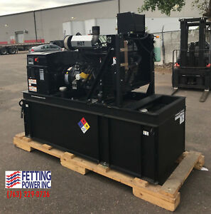 New 40kw Cummins Standby Stationary Diesel Water Cooled Generator C40 d6