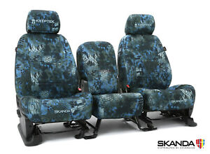 Kryptek Neptune Camo Neosupreme Front Rear Seat Covers For Toyota Tacoma