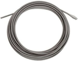 Ridgid Inner Core Drain Cleaning Cable With Bulb Auger Plumbing Snakes Augers