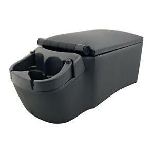 Bully 124809 Universal Truck Seat Center Console Organizer Charcoal New