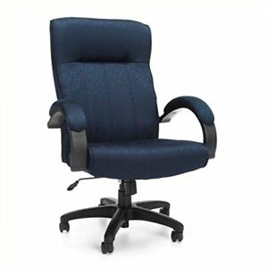 Ofm Stature Series Upholstered High Back Executive Chair Fabric Conference And