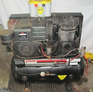Sanborn Industrial Stationary 2 Stage Gasoline Powered Air Compressor project