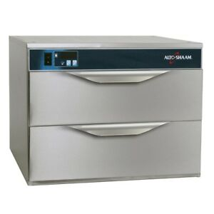 Alto Shaam Double Two Drawer Food Warming Holding Cabinet Model 500 2d