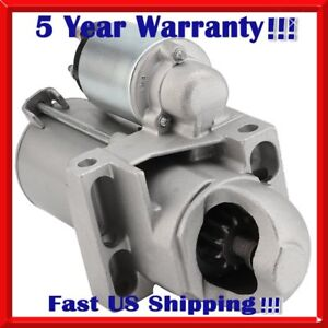 New Starter For Chevy Silverado Gmc Isuzu Oldsmobile Truck 4 3l 1999 2004 6485