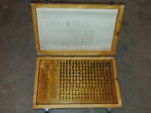 Meyer M1 Minus 0 061 To 0 250 Pin Plug Gage Set Case 198 Complete