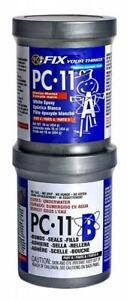 Pc products Pc 11 Epoxy Adhesive Paste Two part Marine Grade 1lb In Two