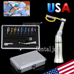 4 1 Reduction Dental Contra Angle Reciprocating Interproximal Strip Ipr System