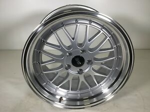 1994 04 Mustang Sve Series 1 Wheel 18x10 Gloss Silver
