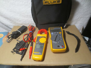 Fluke 116 323 Kit Hvac Multimeter Clamp Meter And Case With Leads