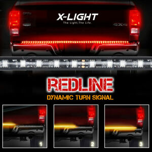 Redline 60 Tailgate Led Strip Light Bar Truck Reverse Brake Turn Signal Tail
