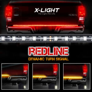 60 Sequential Led Tailgate Light Bar Strip For 2009 2014 2010 2011 Ford F150