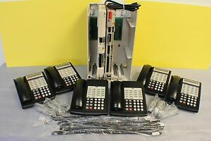 Lucent Avaya Partner Acs R6 Phone System W 6 18d Telephones Vm Aa