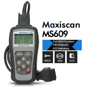 Autel Maxiscan Ms609 Obd2 Obdii Code Reader Abs Diagnostic Scanner Tool For Ford