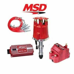 Msd 9126 Ignition Complete Kit Digital 6al distributor wires coil Buick 215 350